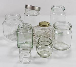 Clear Bruniglass bottles